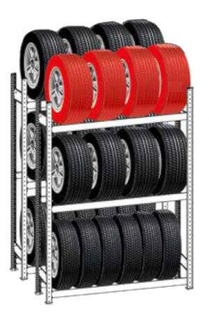 Reifenregal Einzellagerung