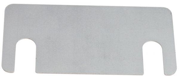 Unterlegplatte für Einfach-Stahlfuß für Weitspannregal PROFI 3000