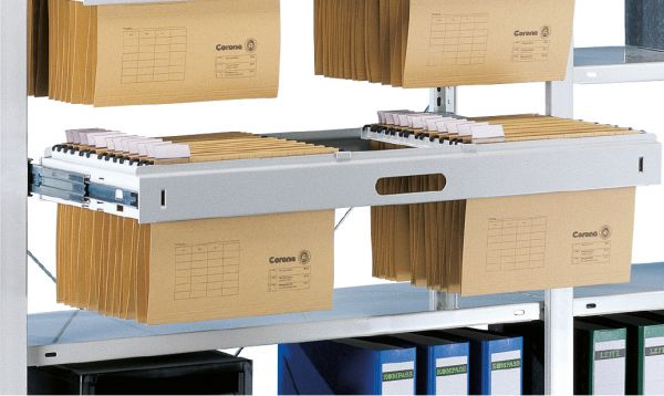 Hängeregister-Auszug für Büroregale Stecksystem