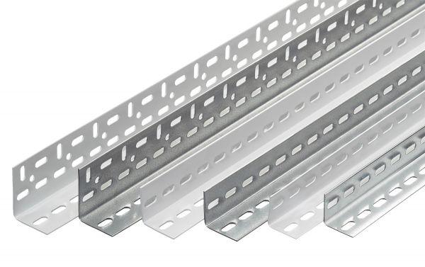 Winkelprofil 60x45x2 mm für Fachbodenregale Schraubsystem