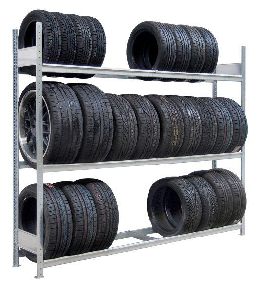 Großfach-Reifenregale Fachlast 400 kg