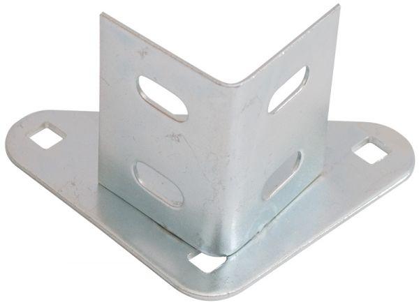 Einfach-Stahlfuß für Winkelprofil 35x35 und 40x40 mm