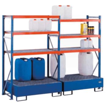 Weitspannregal-Umwelt-Regal