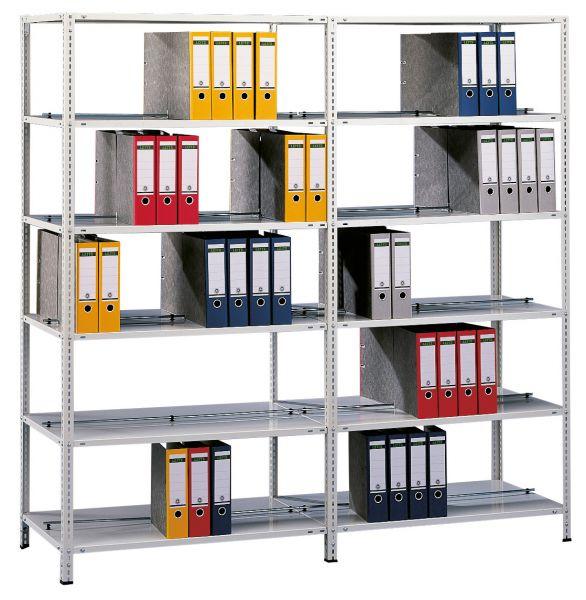 Archivregale / Ordnerregale als Schraubsystem