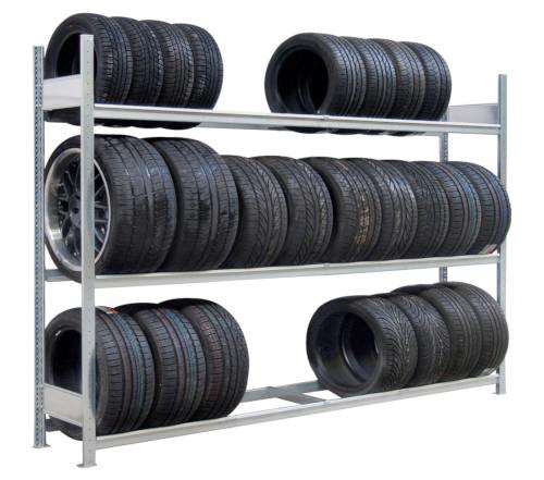Reifenregal Fachlast 400 kg
